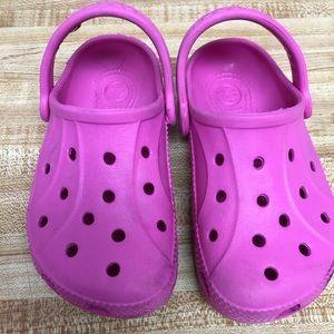 Crocs Classic Clog toddler size 9